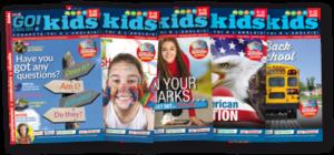 Série magazines Go English Kids pour enfants