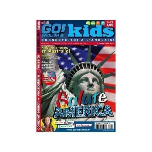 Go English Kids Magazine anglais pour enfants 8 à 12 ans