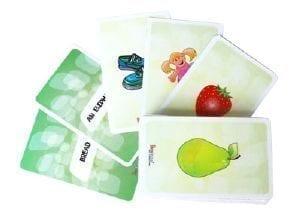 PetraLingua cartes langues étrangères pour enfants - espagnol enfant dvd cd livres