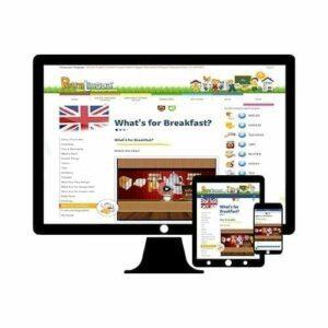 Cours en ligne Petralingua anglais pour enfants et 5 langues