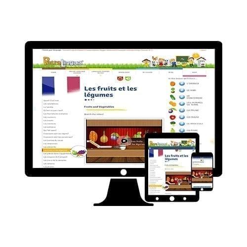 PetraLingua cours de français en ligne pour enfants 3 à 10 ans