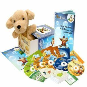 PetraLingua dvd cd livres pour apprendre l'allemand en s'amusant pour enfants