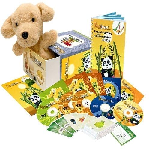 PetraLingua dvd cd livres pour apprendre le chinois pour enfants