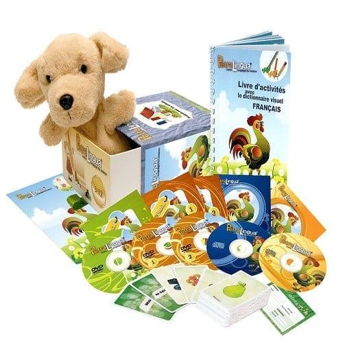 PetraLingua dvd cd livres pour apprendre le français pour enfants