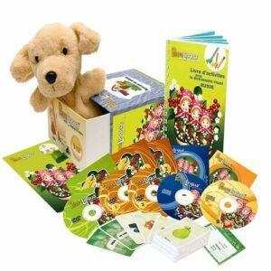 PetraLingua dvd cd livres pour apprendre le russe pour enfants