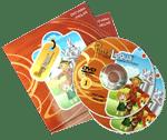 PetraLingua dvd cours de langues étrangères pour enfants - espagnol enfant dvd cd livres