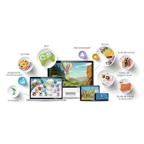 Dino Lingo cours d'espagnol en ligne pour les enfants de 3 à 7 ans