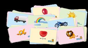 Dinolingo flashcards pour apprendre les langues étrangères aux enfants