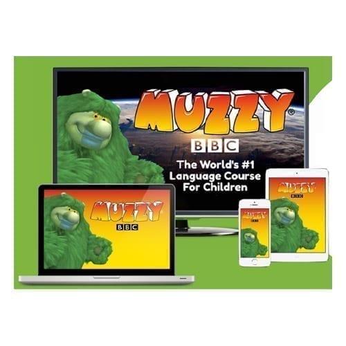 Muzzy BBC cours d'allemand en ligne pour enfants