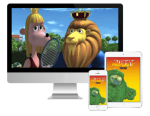 Muzzy BBC apprendre anglais pour enfant 6 DVD et Cours en ligne 3 à 10 ans