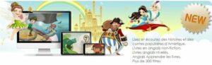 Dino Lingo cours d'anglais en ligne pour enfants - histoires en ligne
