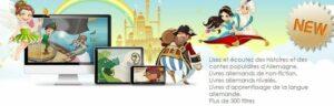 Dino Lingo méthode de langues étrangères - histoires en allemand