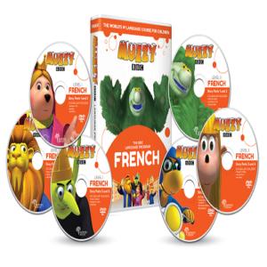 Muzzy BBC français pour enfants 6 DVD et Cours en ligne 3 à 10 ans