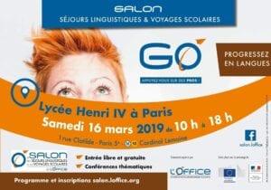 Salon des séjours linguistiques Paris 2019